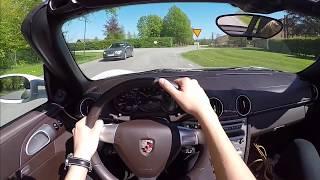 2004-2012 Porsche Boxster 987 60 FPS POV test drive acceleration