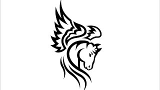 How to Draw a Horse tattoo / Как нарисовать татуировку лошадь(Drawing Channel - https://www.youtube.com/channel/UCaZm6IvtL9zNeDwQi571asA/videos Канал для рисования ..., 2016-01-03T09:28:38.000Z)