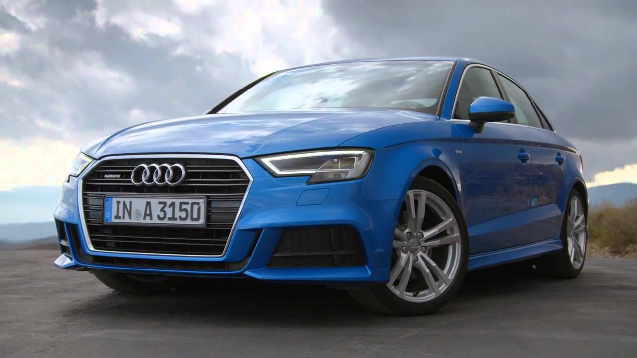 new 2016 audi a3 sedan facelift footage youtube. Black Bedroom Furniture Sets. Home Design Ideas