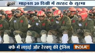 Meet Indian Army Soldiers who Dare to Serve the Nation at -20 degree Temperature