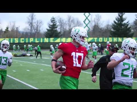 Oregon Ducks open 2018 spring football practice