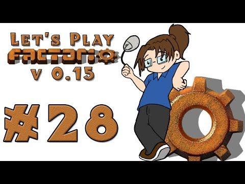 Let's Play: Factorio v15 -- Also Rail World! -- Episode 28