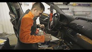 BMW X5 / Подогрев сидений. Установка нештатной системы