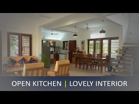 Brand new luxurious home with open kitchen and lovely interior | office space | Video tour