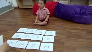 Nhận biết chữ số trong phạm vi 100 _ LÊ KIẾN MINH  Nursery 3.2