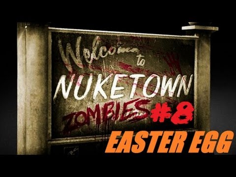 Nuketown Easter Egg/Breakdown Step 8: Open The Fallout Shelter Clues? & Interactable Map Elements