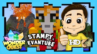 Wonder Quest - Season 1 Ep 9 - STAMPY'S MINECRAFT SHOW | Stampylonghead (Stampy Cat), EvantubeHD
