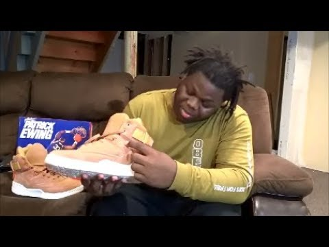sneaker pickup / review | Patrick Ewing