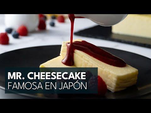 Receta Tarta de Queso ➡ Mr. Cheesecake, el pastel más deseado en Japón