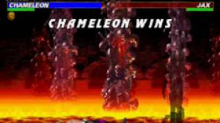 Mortal Kombat Trilogy Chameleon Very Hard Champion Ladder Part 1 2