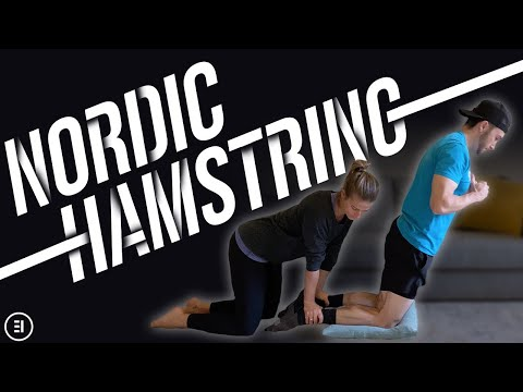 Nordic Hamstring Curl Technique, How to set it up, how to do it without a partner, and variations