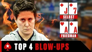VANESSA SELBST'S Top Blow-Ups ♠️ Best Poker Moments ♠️ PokerStars