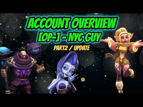 Lords Mobile - Account Overview - NyC Guy - Update(Part2)