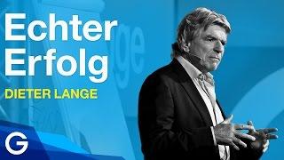 """GEDANKENtanken: Dieter Lange mit """"Erfolg haben – erfolgreich sein: Zwei Welten im Vergleich"""""""