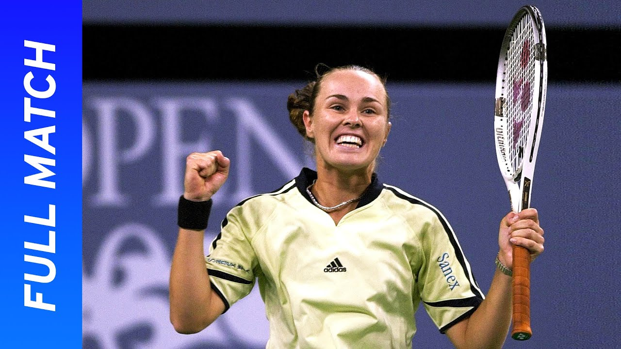 Martina Hingis vs Monica Seles Full Match | US Open 2000 Quarterfinal