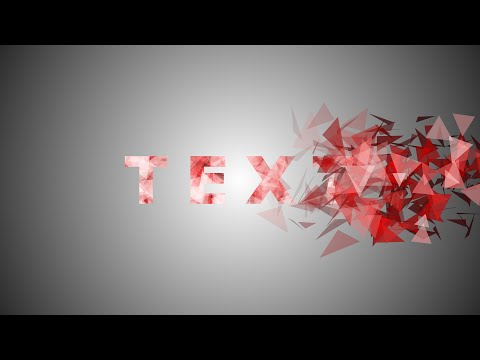 After Effects Tutorial: Particles Text Effect