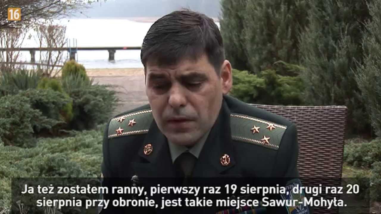 Ranny Ukraiński oficer trafił do Polski. Zobacz, co mówi przed kamerą