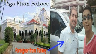 Lifestyle Vlog#6 Visit to Aga Khan palace | Samadhi of Kasturba Gandhi | Meet foreigner from Turkey