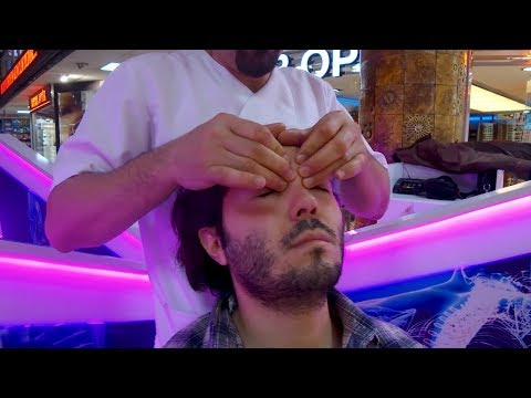ASMR HEAD MASSAGE (Ankara Turkey 2018)