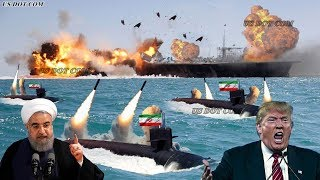 US Angry : Iran Submarine Use Russian Missiles to Sink US Navy in Persian Gulf