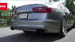APR Catback Exhaust System with Center Muffler and APR Race DPs for the Audi C7/C7.5 S6/S7 4.0 TFSI