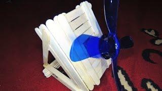 Kipas angin mini fan cooling | Tutorial cara membuat mudah kerajinan unik kreatif