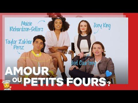 ON A TESTÉ LE FRANÇAIS des acteurs de Kissing Booth 2 | Amour ou Petits Fours | Netflix France