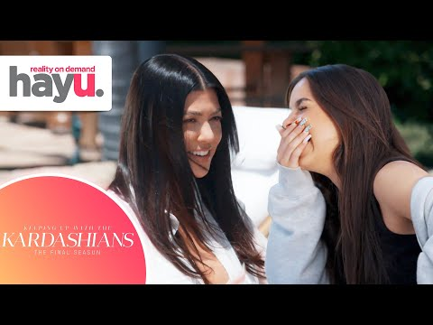 Kourtney Has A New Best Friend And It's Addison Rae! | Season 20 | Keeping Up With The Kardashians