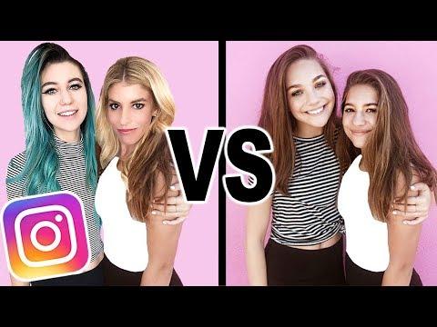 I Copied Maddie Ziegler and Mackenzie Ziegler's Instagram Photos For A Week! (Dance Moms Sisters)