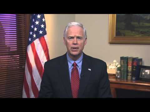2/21/15 Sen. Ron Johnson (R-WI) Delivers Weekly GOP Address On Cyber Security