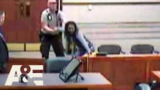 Court Cam: Man Tries to Escape Courtroom (Season 1) | A&E