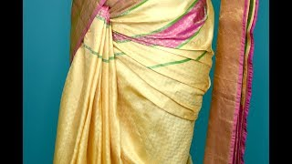 Requested | How To Do Center Saree Pleating