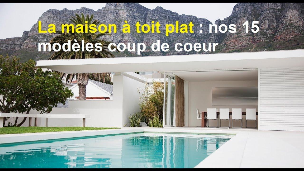 La maison toit plat : nos 16 modèles coups de cœur !