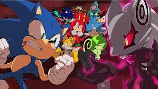 Infinite seems like a pretty cool guy. Sonic meets him and tries to...