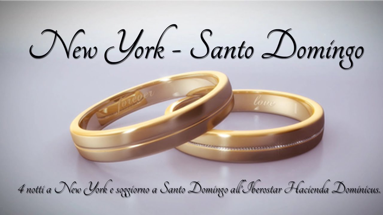 VIAGGI DI NOZZE - New York e Santo Domingo - YouTube
