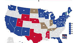 The 2018 Senate Elections as of July 1st, 2018