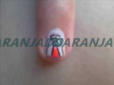 pintado de uña virgen de guadalupe - YouTube