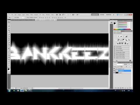[BK] วิธีทำตัวอักษรสวย ๆ จาก Photoshop Cs5