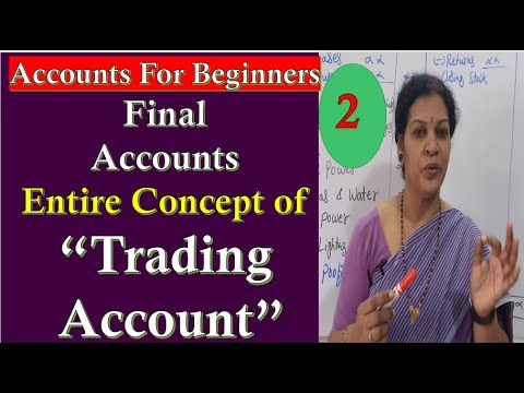 "24. ""Trading account"" - Entire Concept With Proforma & Problem With Solution"