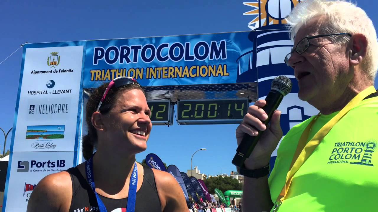 Emma Bilham, Female Winner Of The Triathlon De Portocolom 111 2016