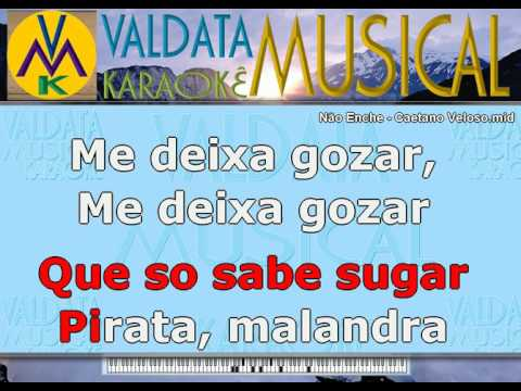 Não Enche   Caetano Veloso   Karaoke mp3