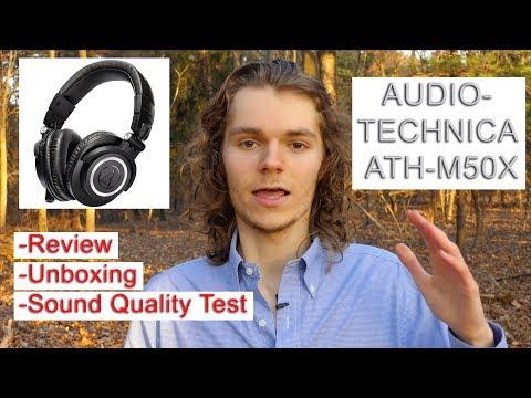 Audio-Technica ATH-M50x (Review + Sound Test)