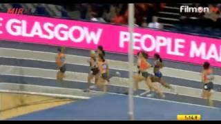 800m Women Glasgow Indoor Grand Prix 2016