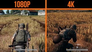 PUBG Xbox One X VS Xbox One