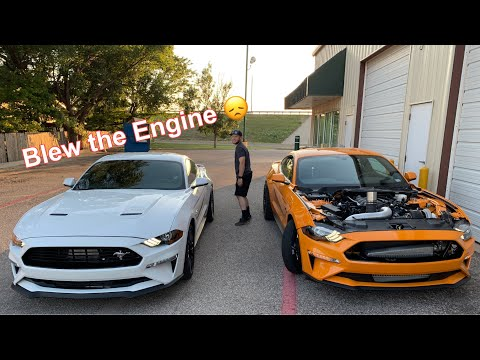 Another 2018/2019 Mustang GT Engine Down :(