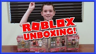 Roblox Series 1 Action figure Unboxing :: GamerBoyJJM