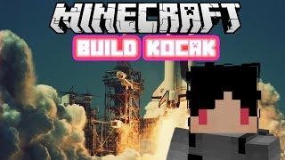 Minecraft Indonesia - Build Kocak (21) - Roket Luar Angkasa!