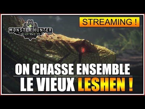 ON CHASSE LE VIEUX LESHEN😱😱😱 SUR MONSTER HUNTER WORLD - FR thumbnail