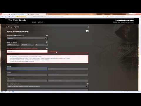 Получаем ключ The Elder Scrolls Online за 5 минут
