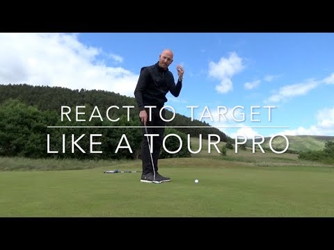 React to target like a tour pro golf psychology